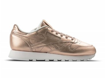 Reebok Classic Leather Melted Metal W Pearl Met Peach White BS7897