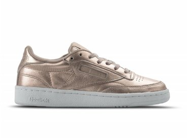 Reebok Club C 85 Melted Metal W Pearl Met Peach White BS7899