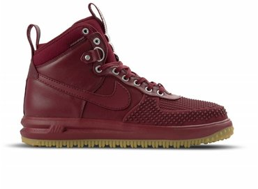 Nike Men's Lunar Force Duckboot Team Red/Team Red Gum Light Brown 805899 600