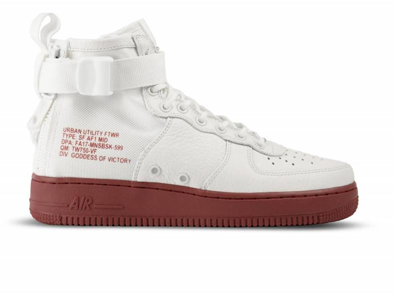SF Air Force 1 MID Ivory Ivory Mars Stone 917753 100