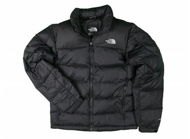The North Face Nuptse 2 Jacket TNF Black High Rise Grey T0AUFDC4V