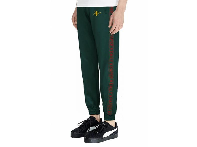 Green Tape Logo Track Pants NOSB07