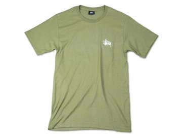 Stussy Basic Tee Olive 2902917 0403