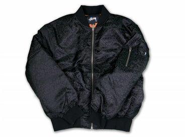 Stussy Micha Bomber Black 215061 0001