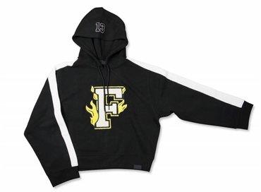 Puma X Fenty Hooded Panel Sweatshirt Cotton Black 575829 02