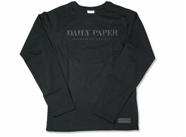 Daily Paper Long Sleeve Black 17F1TL01