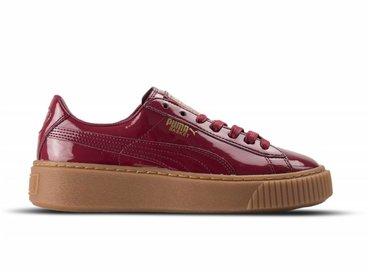 Puma Basket Platform Patent Tibetan Red 363314 04