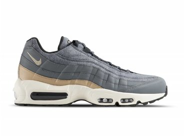 Nike Air Max 95 PRM Cool Grey Mushroom Deep Pewter 538416 009