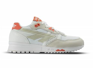 Hi Tec HTS Badwater 146 ABC OG Warm Grey White Red Orange 006274 051