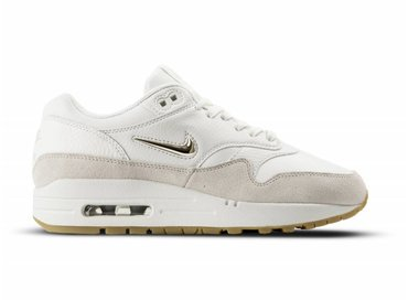 Nike Air Max 1 Premium SC Summit White Metallic Gold Star AA0512 100