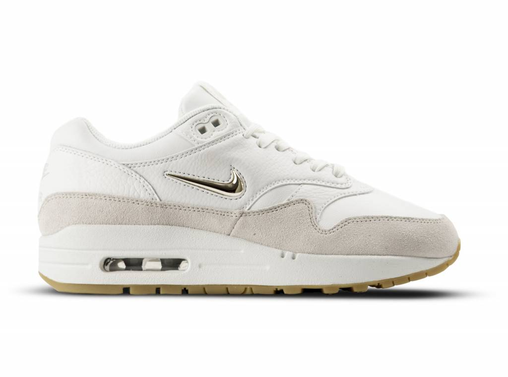 Air Max 1 Premium SC Summit White Metallic Gold Star AA0512 100