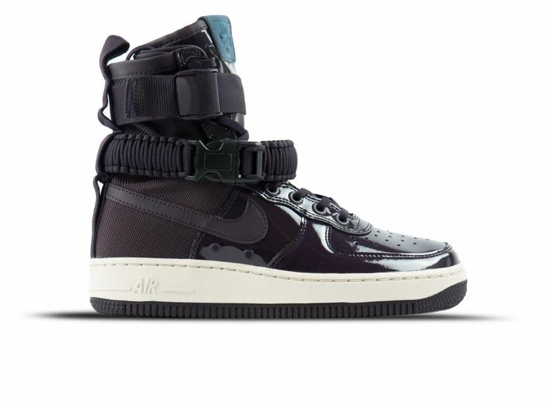 SF Air Force 1 SE PRM Port Wine Space Blue   AJ0963 600