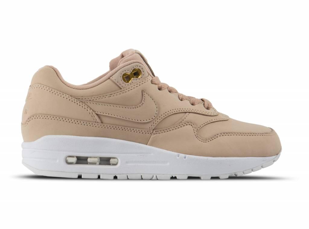 nike air max 1 premium dames beige