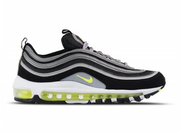 Nike Air Max 97 Black Volt Metallic Silver 921826 004