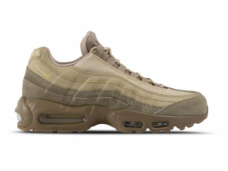 Air Max 95 Premium Khaki Team Gold Mushroom 538416 202