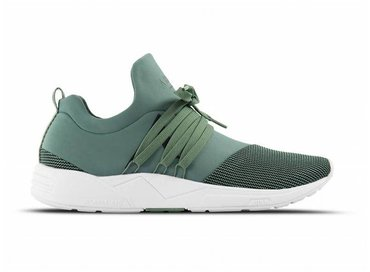 Arkk Copenhagen Raven Mesh S-E15 Sage Green Black AS1471 0031 W