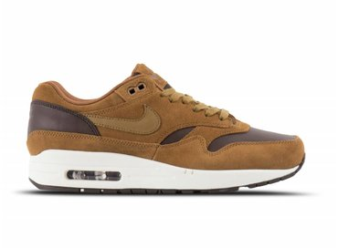 Nike Air Max 1 Premium Leather Ale Brown Golden Beige AH9902 200