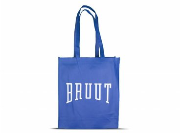 Bruut Exclusive Totebag Blue/White