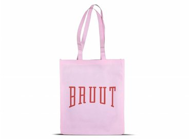 Bruut Exclusive Totebag Pink/Red