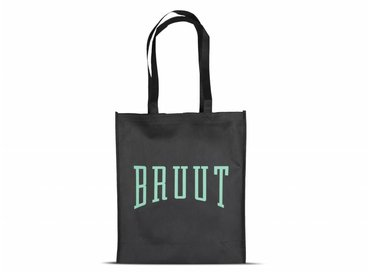 Bruut Exclusive Totebag Black/Mint
