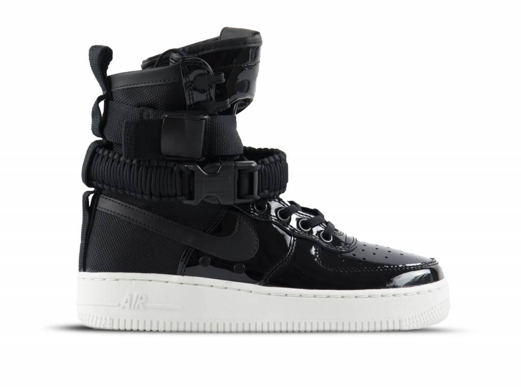 promo code ecb4a 11686 Nike SF Air Force 1 SE PRM Black black Reflect Silver AJ0963 001  Bruut  Online shop - Bruut Online Shop  Sneakerstore
