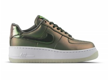 Nike W Air Force 1 Upstep PRM LX Dark Stucco Dark Stucco White AA3964 001