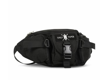 Daily Paper Multipocket Waist Bag Black
