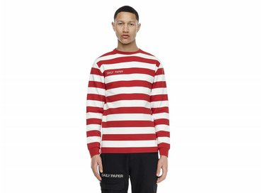 Daily Paper Astripe LS Red NOST16