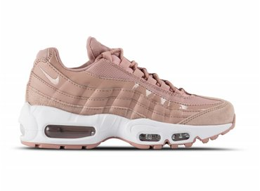 Nike WMNS Air Max 95 Particle Pink Silt Red White 307960 601