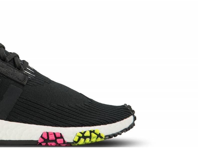 adidas nmd racer pk core black / core black / solar pink