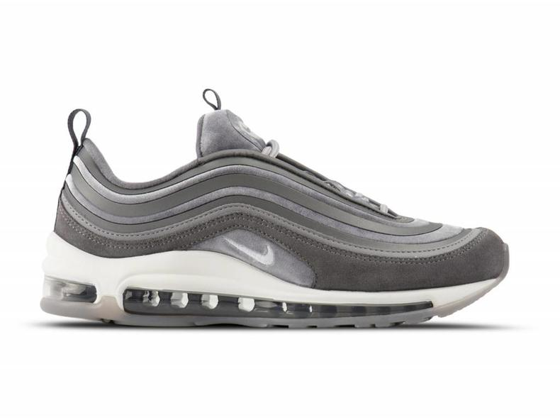 WMNS Air Max 97 Ultra Lux Gunsmoke Summit White Atmosphere Grey AH6805 001