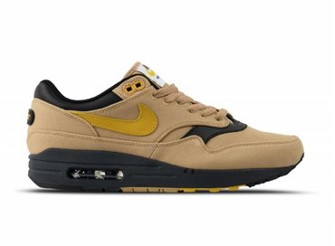 Nike Air Max 1 Premium Elemental Gold Mineral Yellow Black 875844 700