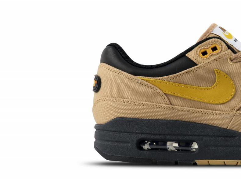 Air Max 1 Premium Elemental Gold Mineral Yellow Black 875844 700