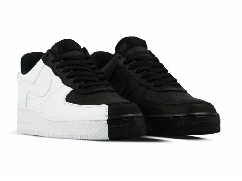 Air Force 1 '07 PRM Black White Black 905345 004