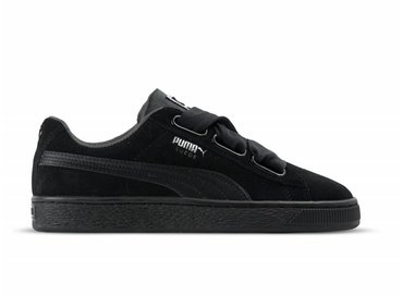 Puma Suede Heart EP Black Metallic Beige 366922 01