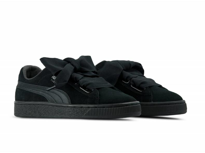 PUMA SUEDE HEART EP 366922 01 BLACK