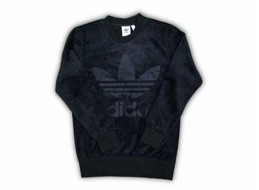 Adidas Velour Crew Black CY3551