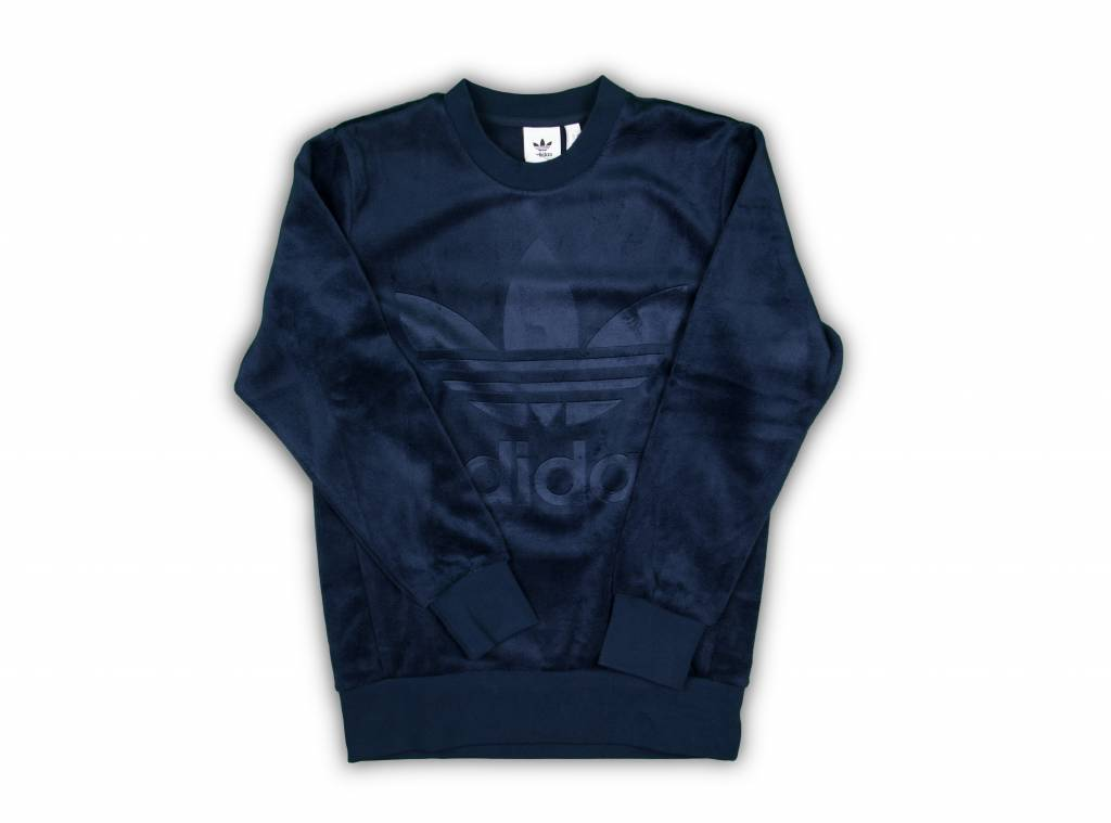 Velour Crew Navy CW1328