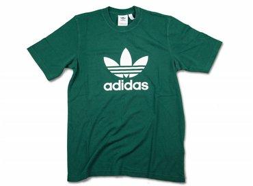 Adidas Trefoil T Shirt Collegiate Green CW0705