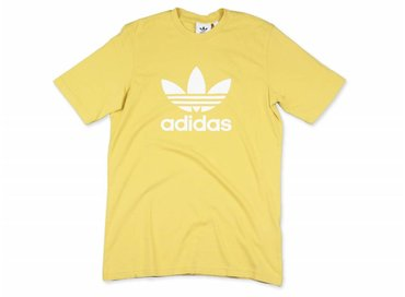 Adidas Trefoil T Shirt Tribe Yellow CW0706