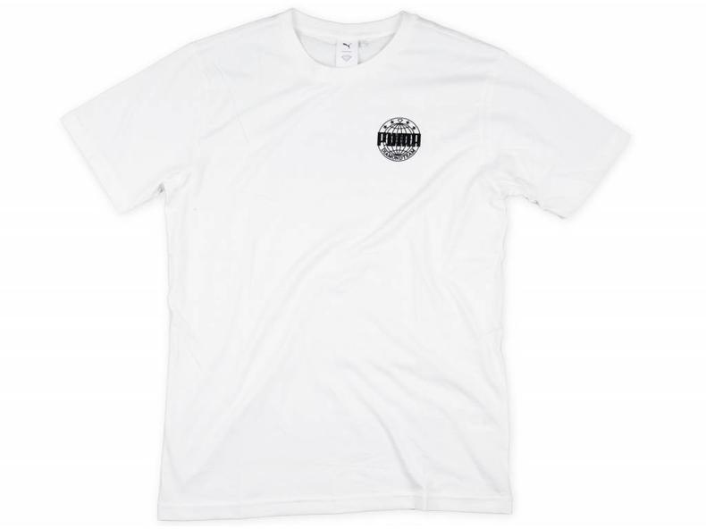 x Diamond Logo Tee Puma White 575358 02