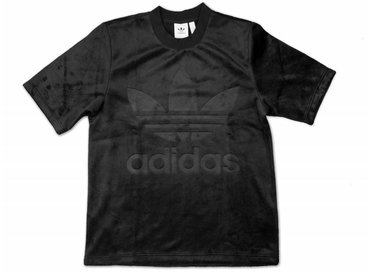 Adidas Velour Tee Black CY3548