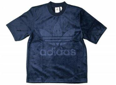 Adidas Velour Tee Conavy CW1326