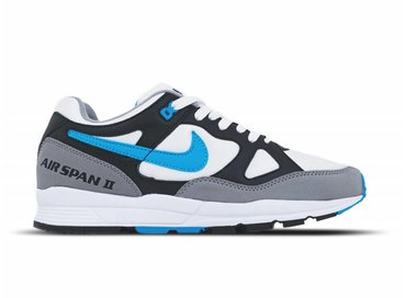 Nike Air Span II Black Laser Blue Dust White AH8047 001