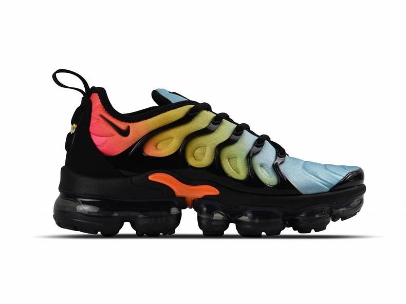 W Air Vapormax Plus Black Black Bleached Aqua AO4550 002