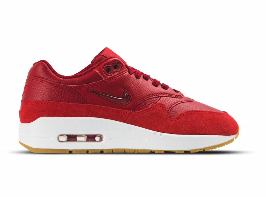 WMNS Air Max 1 Premium SC Gym Red Gym Red Speed Red AA0512 602