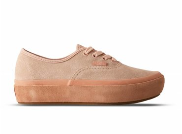 Vans Authentic Platform Suede Outsole Evening Sand VN0A3AV8QB2