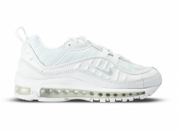 Nike Air Max 98 White Pure Platinum Black 640744 106