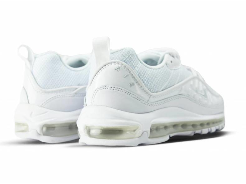 Air Max 98 White Pure Platinum Black 640744 106