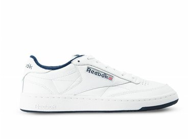 Reebok Club C 85 Archive White Collegiate Navy Red CN0646